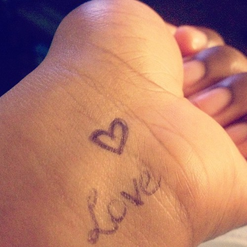 Love is louder than the pressure to be perfect!