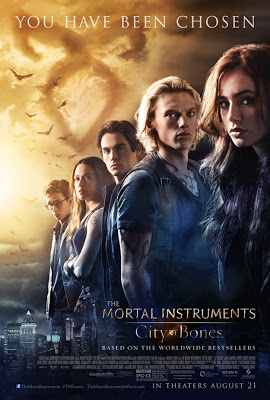The Mortal Instruments City of Bones Film Poster