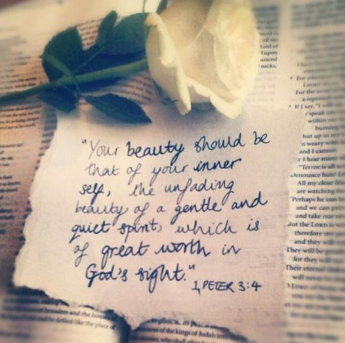 Your Beauty Should Be That Of Your Inner Self