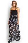 Floral Chiffon Maxi Dress. Buy Here--->http://bit.ly/U0KHIS